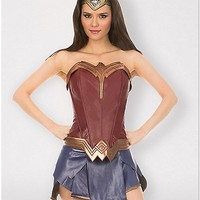 Adult Wonder Woman Corset - DC Comics - Spencer's