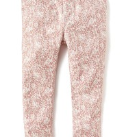 Old Navy Floral Print Jeggings For Baby