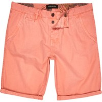 Pale red chino shorts - chino shorts - shorts - men