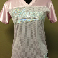 Cute Sequin/Bling Cheer Jersey by CheeksLittleBoutique on Etsy