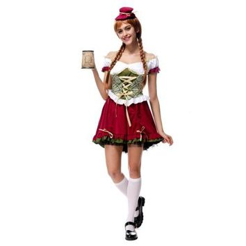 Bavaria Costume Beer Festival Waitress