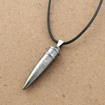 Mens Cool Cross Bullet Necklace Lover UniqueNacklace-32