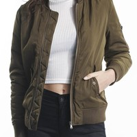 Women's Jackets - Aviator Jacket by All About Eve - Edge Clothing