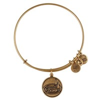 Alex and Ani Kentucky Derby® 139 Spires Charm Bangle - Russian Gold
