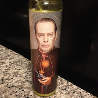 Steve Buscemi Funny Prayer Candle, Prayer Candle, Funny Religious Candle