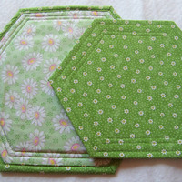 Daisy Home Decor, Trivet, Hot Pad, Small and Large Size, Candle Mats