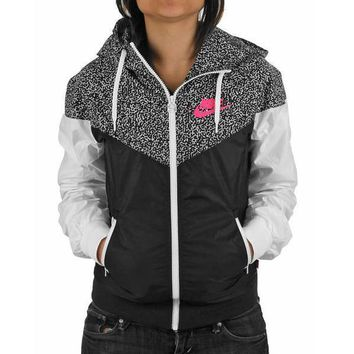 nike hooded zipper cardigan sweatshirt jacket coat windbreaker sportswear-14