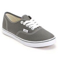 Vans Authentic Lo Pro Pewter Shoes (Women's)