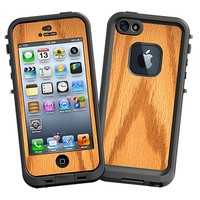 Red Oak Skin  for the iPhone 5 Lifeproof Case by skinzy.com