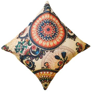 """16"""" x 16"""" with INSERT Decorative Throw Pillow Luxury Square Cushion for Couch Sofa Bedroom and Living Room Floral Abstract Print Gifts for All"""