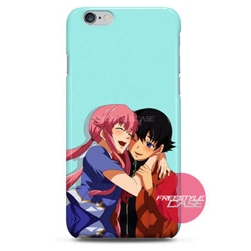 Future Diary Yuno and Yuki iPhone Case 3, 4, 5, 6 Cover