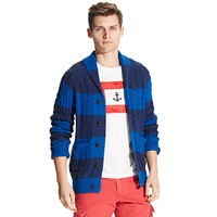 STRIPE SHAWL CARDIGAN | Tommy Hilfiger USA