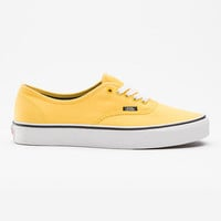 Lemon Chrome Vans Authentic