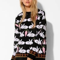 The Whitepepper Rabbit Sweater - Urban Outfitters