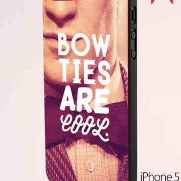 Doctor Who Dr Smith Bow Ties Are Cool iPhone 5 Case