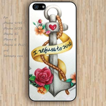 iPhone 5s 6 case anchor loves heart Dream catcher colorful Cartoon okay phone case iphone case,ipod case,samsung galaxy case available plastic rubber case waterproof B451