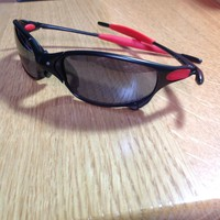 Genuine Oakley Ducati Juliet Carbon Frame Black Iridium Sunglasses