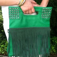 Fringed Handbag from Fairy Tale Accessories