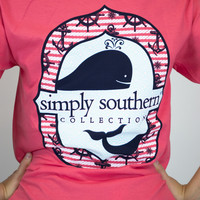 Ocean Whale Simply Southern Tee
