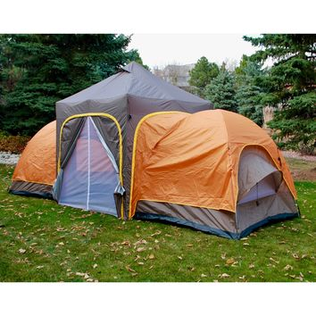 Camp Modular Tent 2 Modular Domes Sleeps 6 Comfortably