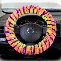Steering Wheel Cover Bow Wheel Car Accessories Lilly Heated For Girls Interior Aztec Monogram Tribal Camo Cheetah Sterling Chevron Leopard