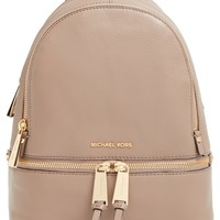 MICHAEL Michael Kors 'Extra Small Rhea Zip' Leather Backpack | Nordstrom