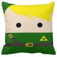 Handmade Legend of Zelda Pillow