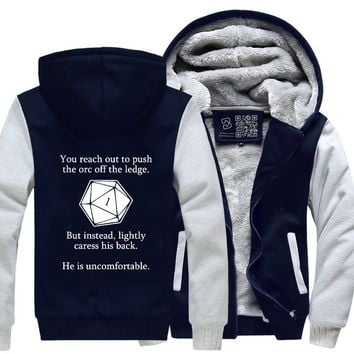 Dungeons And Dragons D20 Roll, Dragon And Dungeon Fleece Jacket