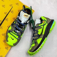 "OFF WHITE x Nike Air Zoom Terra Kiger 5 ""Electric Green"" Sport Shoes - Best Online Sale"