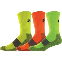 Under Armour Performance Crew Sock 3 Pack