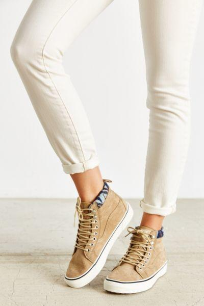 497c04072a Vans Sk8-Hi Woven Chevron MTE Sneaker from Urban Outfitters