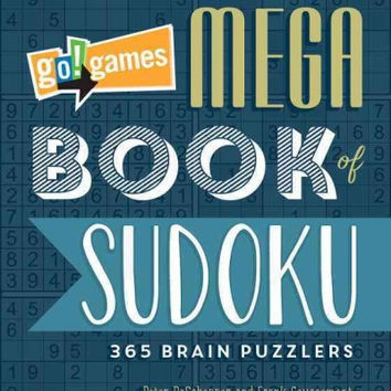 Go! Games Mega Book of Sudoku: 365 Brain Puzzlers: Go!Games Mega Book of Sudoku: 365 Brain Puzzlers