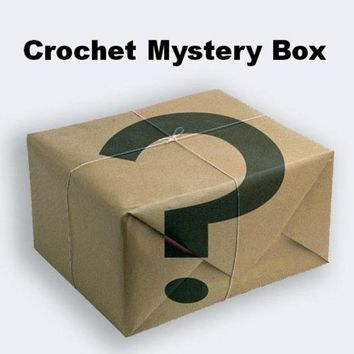 April Mystery Box of Crochet Items