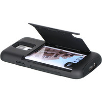 DW Hybrid Credit Card / Stand Case for Samsung Galaxy S5 - Black