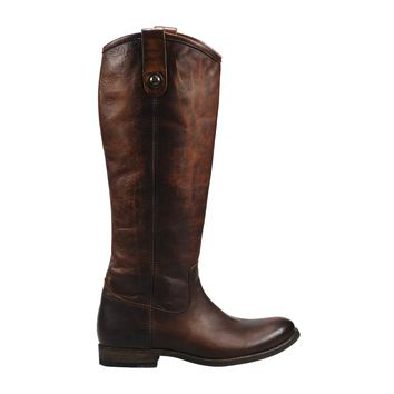Frye Melissa Button Tall Boot Women's - Dark Brown