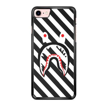 Off White Bape Shark iPhone 7 Case