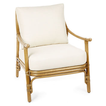 Cecilia Lounge Chair, Nutmeg/Ivory, Accent & Occasional Chairs