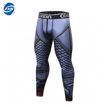 Running Tights Men Compression Sports Leggings Fitness Men Running Tights Gym Clothing Basketball Training Sportswear