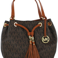 Michael Kors Jet Set NS Large Gathered Tote Handbag