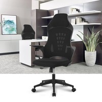 LANGRIA Ergonomic High-Back Mesh Office Chair Executive Chair Gaming Chair 360 Degree Swivel Desk Chair with Knee-Tilt