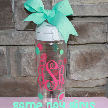 Monogrammed Tervis Water Bottle