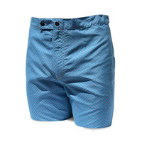 98 Coast Av Pattern Slim Fit Trunks Aqua