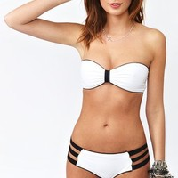 Britt Bikini - Colorblock in  What's New at Nasty Gal
