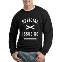 The Weeknd Sweatshirt The Weeknd Official Issue Xo Ovoxo Logo Unisex Sweatshirt Crewneck tee size S,M,L #2
