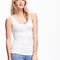 Fitted 2-Way Layering Tank for Women | Old Navy