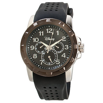 Disney Parks Mickey Mouse Icon Chronograph Watch for Adults Black New