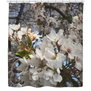 Cherry Blossoms - Shower Curtain