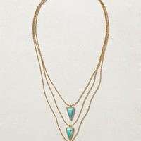 Cerrillos Point Necklace by Melanie Auld Turquoise One Size Necklaces
