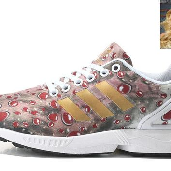 Real Red Elf Adidas ZX Flux Womens Rio Red sneaker