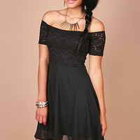 Lace Skater Dress - Lace Dresses at Pinkice.com